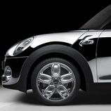 Mini con Chrome Line Exterior Deluxe llanta delantera