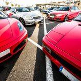 Ferrari V8 en el muelle