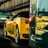 Ferrari F430 monza amarillo