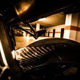 Ducati 749 - detalle pisantes