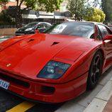 Top Marqués Mónaco 2015 - Ferrari F40 front