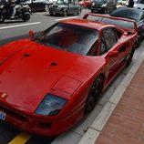 Top Marqués Mónaco 2015 - Ferrari F40 en la calle