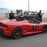 Top Marqués Mónaco 2015 - Ferrari F430 Scuderia 16M rear
