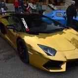 Top Marqués Mónaco 2015 - Lamborghini Aventador gold