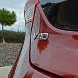 Prueba - Volvo V40 D4: Detalle anagrama trasero