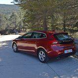 Prueba - Volvo V40 D4: Descubriendo su trasera