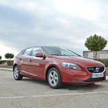 Prueba - Volvo V40 D4: Frontal