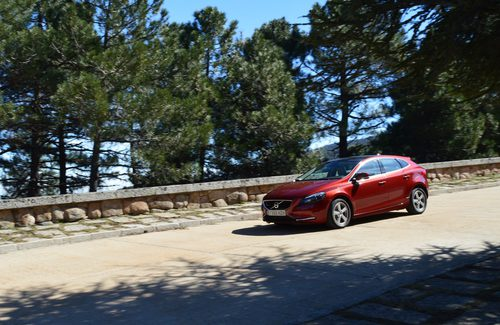 Prueba - Volvo V40 D4: En imágenes