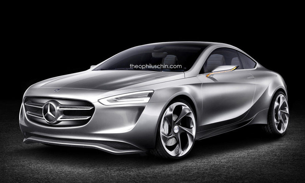 Mercedes Clase A coupe render