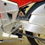 Bimota YB10 1991 - detalle basculante