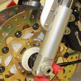 Bimota YB10 1991 - detalle frenos