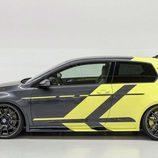 Volkswagen Golf GTI Dark Shine - side