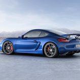 Porsche Cayman GT4 - side