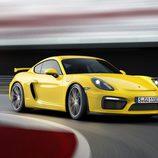 Porsche Cayman GT4 - frontal