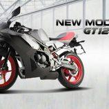 Hyosung GT 125R filtrada