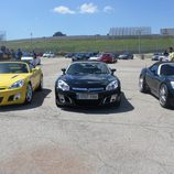 Opel GT - lineados