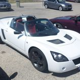 Opel Speedster - aérea