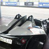 KTM X-BOW - detalle trasera