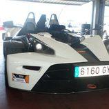 KTM X-BOW - detalle delantera