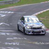 BMW M2 pruebas Nürburgring - frontal