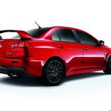 Mitsubishi Lancer Evo Final Edition - side