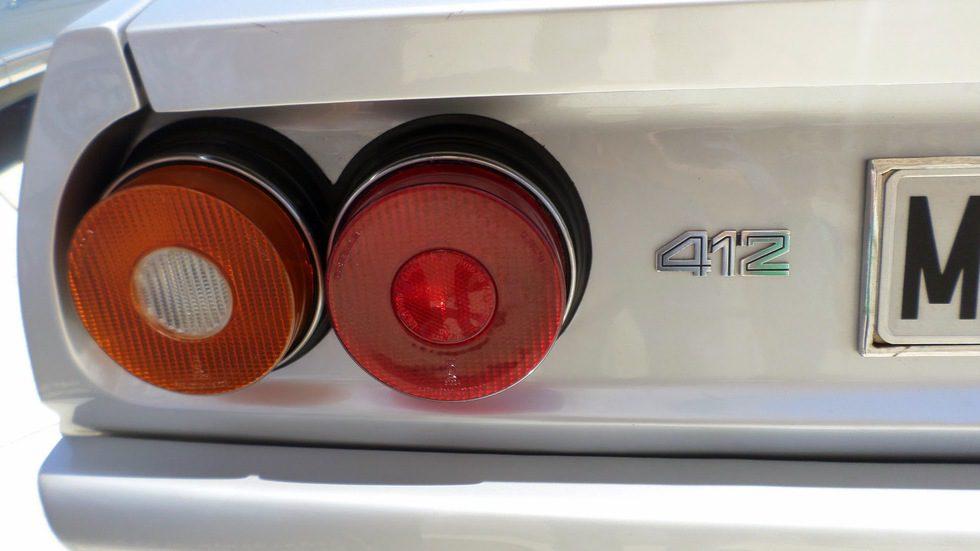 Ferrari 412i A (1985-1989) - detalle