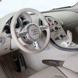 Bugatti Veyron Bleu Centenaire - interior