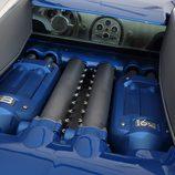 Bugatti Veyron Bleu Centenaire - motor