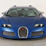 Bugatti Veyron Bleu Centenaire - frontal