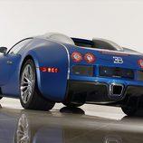 Bugatti Veyron Bleu Centenaire - rear