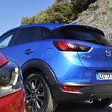 PRESENTACIÓN Y PRUEBA - Mazda CX-3: Combinando trasera