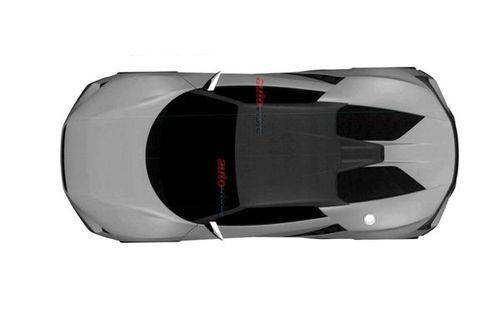 Bocetos patente Honda motor central - aerial