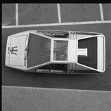 Maserati Boomerang concept 1972 - aérea