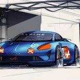 Renault Alpine celebration concept 2015 - boceto