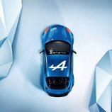Renault Alpine celebration concept 2015 - top