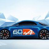 Renault Alpine celebration concept 2015 - lateral