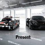 Porsche teaser Presente