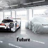 Porsche teaser Futuro