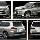 Lexus LX filtración
