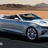 Chevrolet Camaro convertible 2016 - front