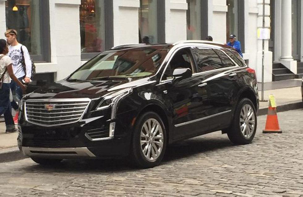 Cadillac XT5 fotos espía