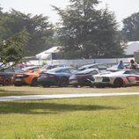 Goodwood FoS 2015 Supercars - parking