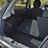 Prueba - Mitsubishi Space Star Motion: Perfil maletero con asientos abatidos
