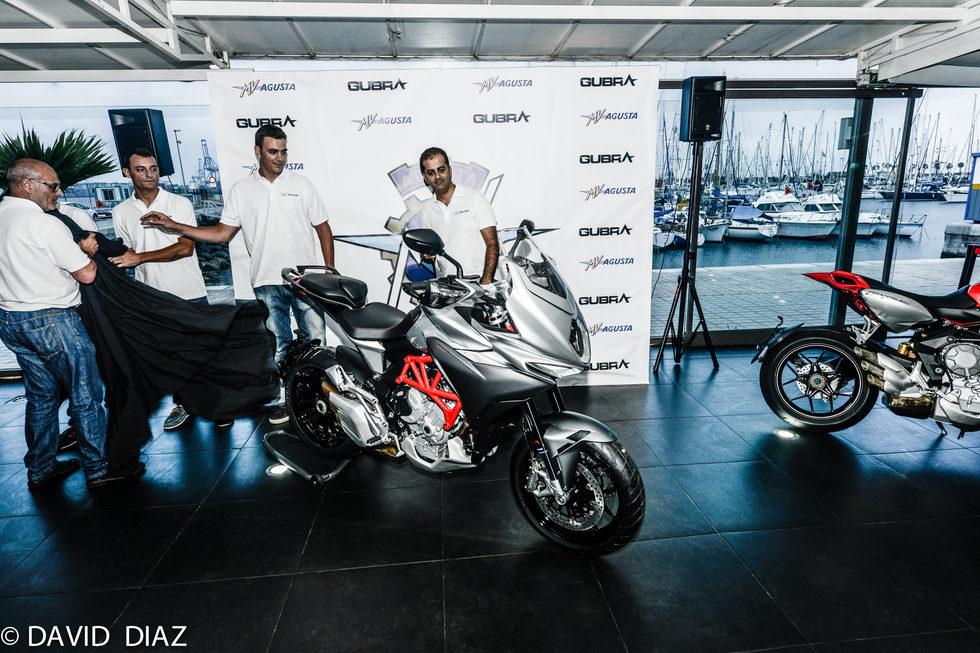 Presentación MV Agusta Turismo Veloce - detalle