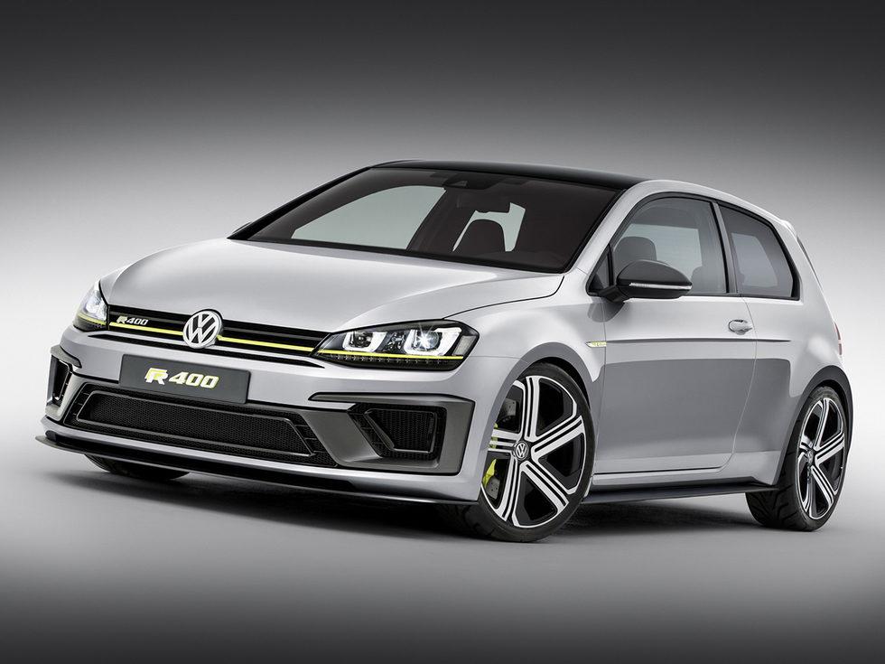 Volkswagen Golf R400 Concept - Frontal izquierdo