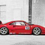 Ferrari F40 LM - Lateral