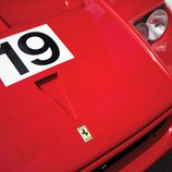 Ferrari F40 LM - Detalle frontal