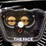 Yamaha XV 950 Yard Built 'The Face' - detalle