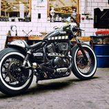 Yamaha XV 950 Yard Built 'The Face' - zaga