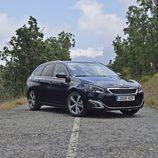 Prueba - Peugeot 308 SW: 1/3 frontal derecho